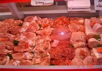 Gefrorener fleisch