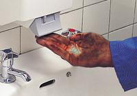 Abrasive pasten für hände