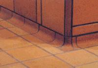 Keramikfußböden