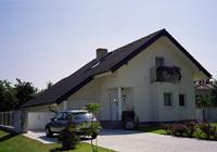 Montierte einfamilienhäuser