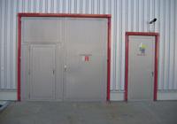 Stahl-brandschutztore