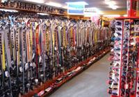 Verleih von skiern und snowboards