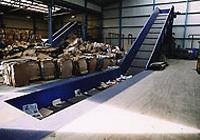 Einrichtungen für abfallrecycling